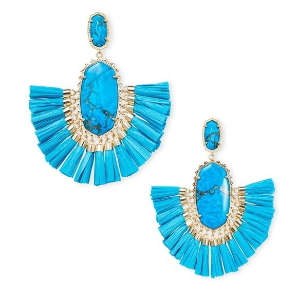 Kendra Scott Jewelry - Kendra Scott Statement Earrings BRAND NEW!